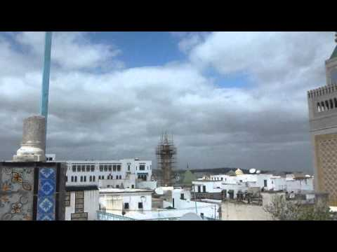 View of Zaytouna Mosque in the Medina   Tunis   Tunisia   April 2015