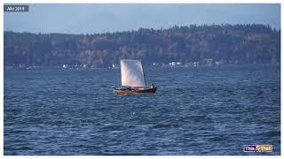 Small Sailboat vs Heavy Wind