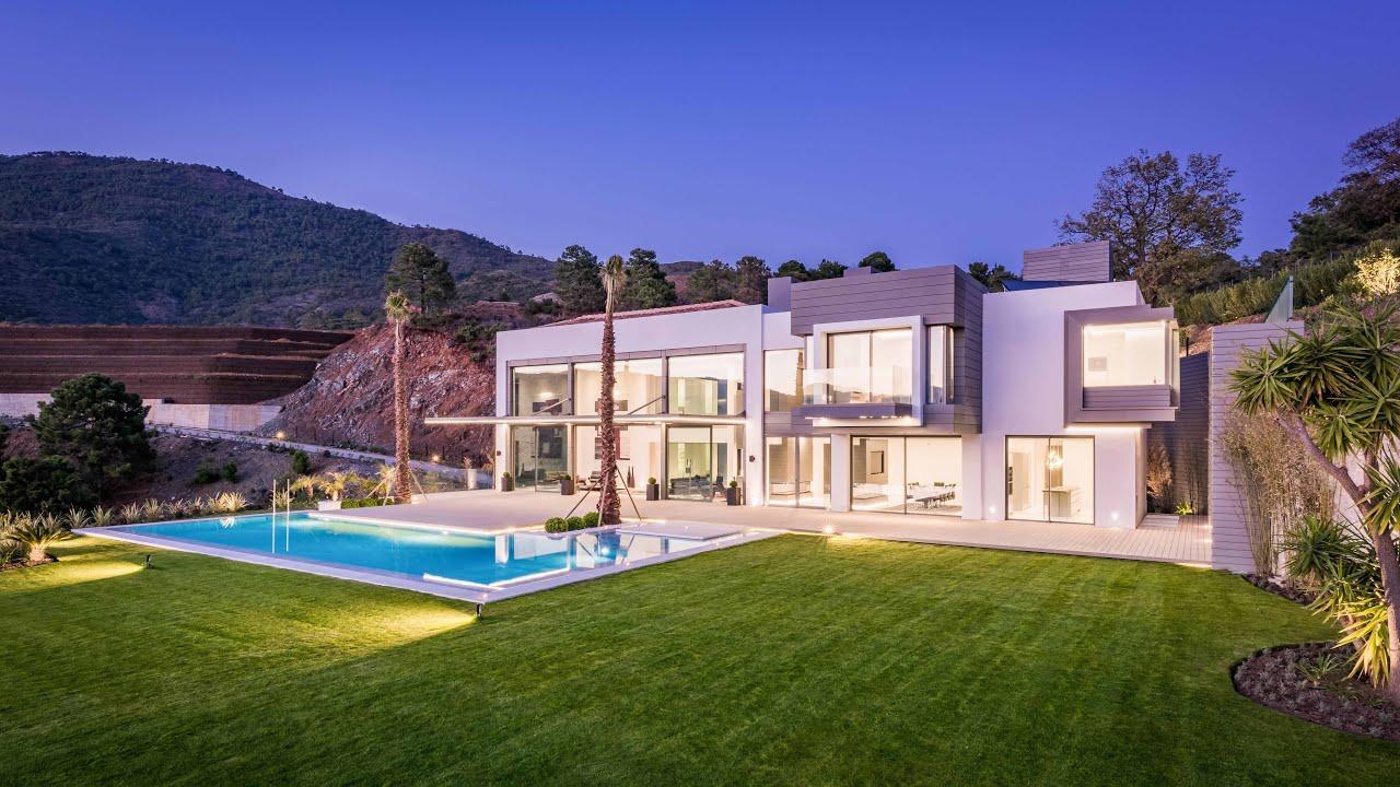 Open House Villa In La Zagaleta Spain Youtube