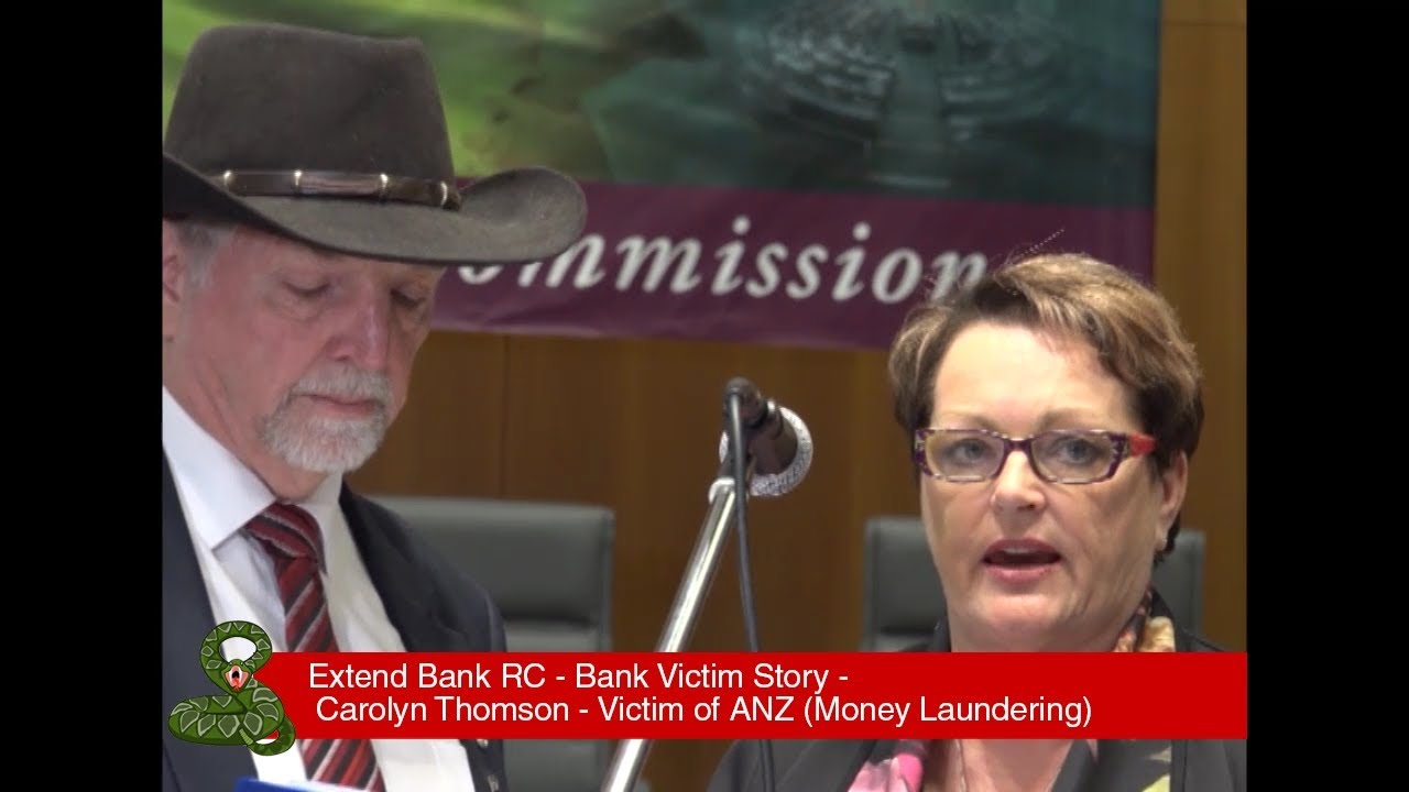 Carolyn Thomson - Victim of ANZ (Money Laundering) | Bank Victims