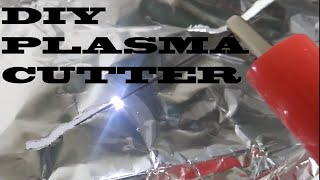 Make mini plasma cutter with 9v batteries | What you can make from 9 volt batteries | Battery hack