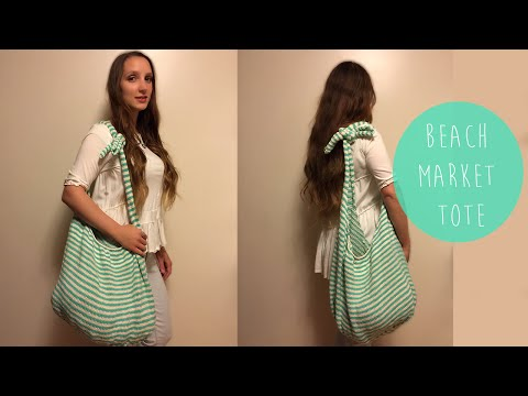 KNITTING TUTORIAL-MARKET/BEACH TOTE