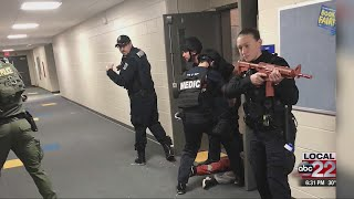First responders train for active shooting situations