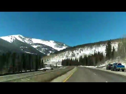 Denver to Grand Junction Colorado, USA I-70 Part 1