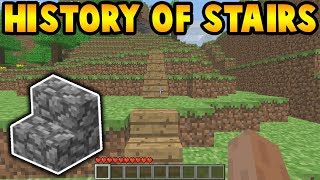 The Evolution Of Minecraft Stairs (2009 - 2019)