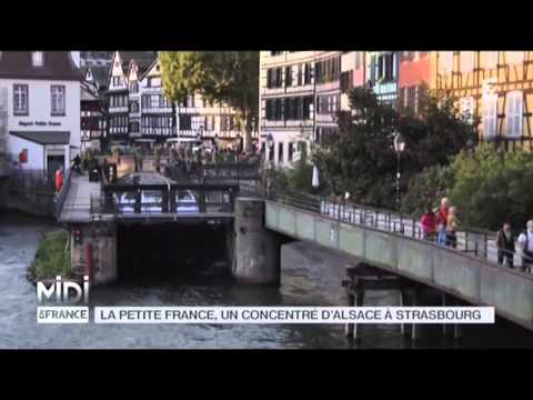 SUIVEZ LE GUIDE : La Petite France, un concentré d'Alsace à Strasbourg