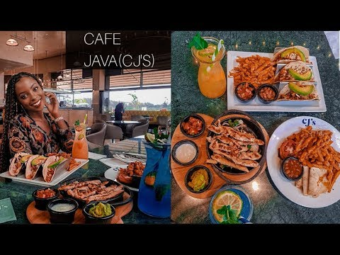 LUNCH AT CJS(CAFE JAVA)NEW BRANCH  THE WATERFRONT