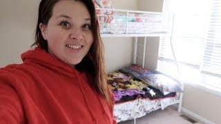 The Kid's Bedroom Makeover! - SRV #214 | Sarah Rae Vlogas |