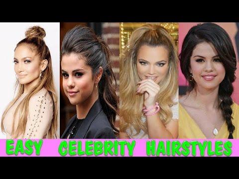 Peinados Inspirados En Selena Gomez JLO Khloe Kardashian Celebrity Inspored Hairstyles
