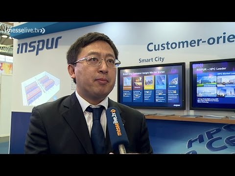CeBIT 2016: Inspur presents professional server and cloud solutions