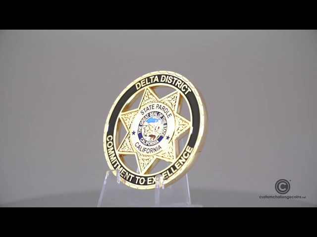 Custom Challenge Coins - State Parole of California
