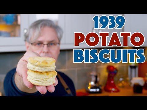 🔵 1939 Potato Biscuits Recipe