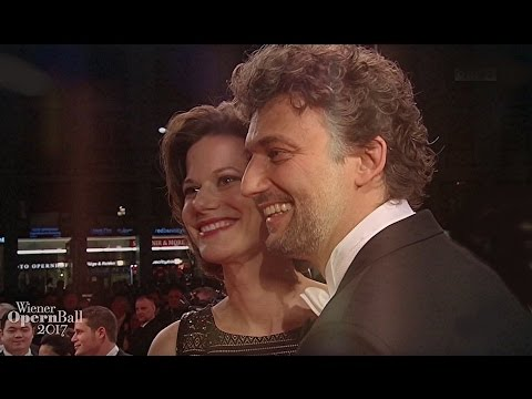 Jonas Kaufmann & Christiane Lutz ⭐ Red carped-Short Clip