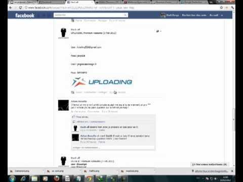 premium account sharecash wupload crocko hotfile usenext alldebrid ...