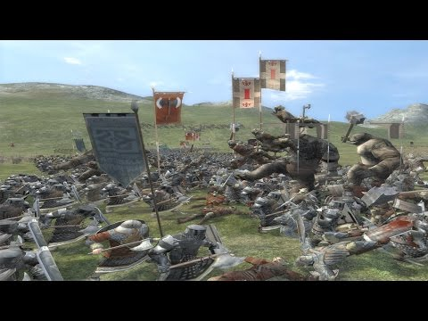 BATTLE OF THE FIVE ARMIES - Third Age Total War (Custom Scen