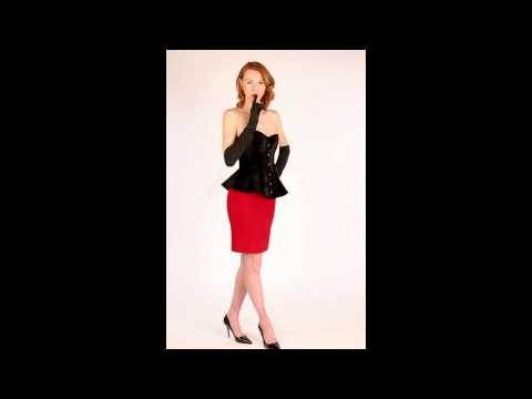 Exclusive bespoke peplum style corset from vintage Corsettery collection