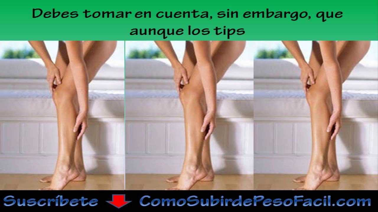 Como crecer las piernas rapidamente