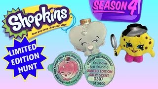Shopkins Season 4 Limited Edition Hunt Sally Scent Mission By Shopkin Detective Kooky Cookie