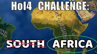 South Africa annexes all Africa in Hearts of Iron 4