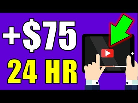 Earn $75.00 In YOUR First Day Watching Videos