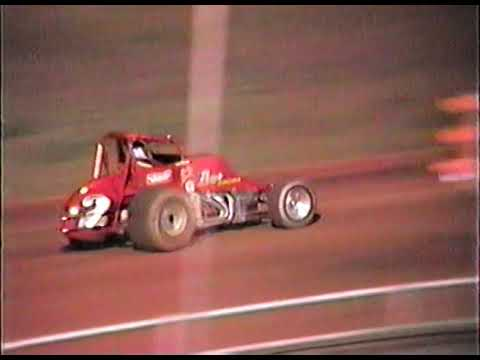 CRA sprint cars along with the local racing program. - dirt track racing video image