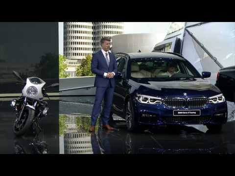 BMW Group Press Conference Harald Krüger, Chairman of the Board of Management of BMW AG | AutoMotoTV