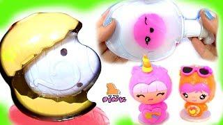 #Smooshins Kawaii Squishy Сюрприз Игрушки #Зверюшки Своими Руками Surprise Eggs | Май Тойс Пинк
