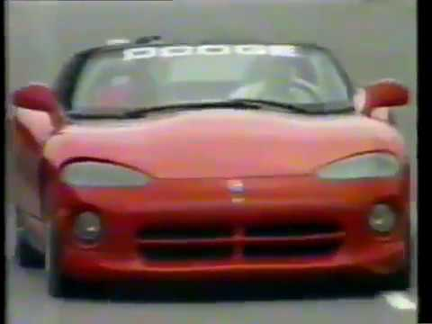 1991 Indy 500 Dodge Viper RT/10 Pace Car (Brazilian Race Coverage)