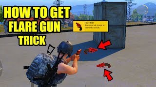 How to Get the Flare Gun After 0.8 Update in PUBG MOBILE ? Flare Gun BEST Location !