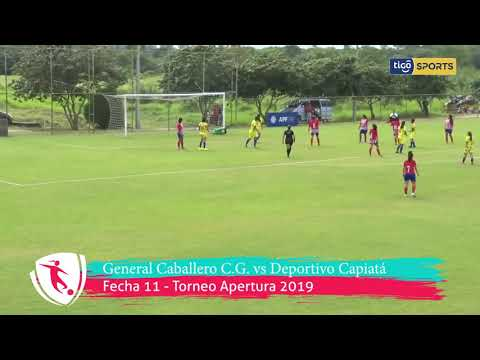 Resumen de goles General Caballero C.G. vs Deportivo Capiatá