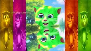 Learning Colors For Babies With Funny Talking Tom nursery rhymes
