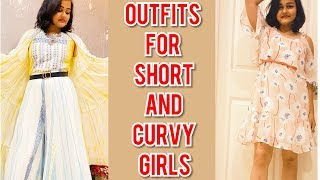 How To Dress To Look Slimmer and Taller ! Styling Tips For Petite and Curvy Girls | Gayathri S