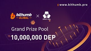 AIRDROP I 20,00,000 DEP TOKEN &  5$ TO 25$ USDT TOKEN AIRDROP BY BITHUMB EXCHANGE I MUST DO KYC.