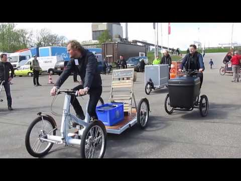 Cargo Bike parade, Nijmegen NL 17th April 2016