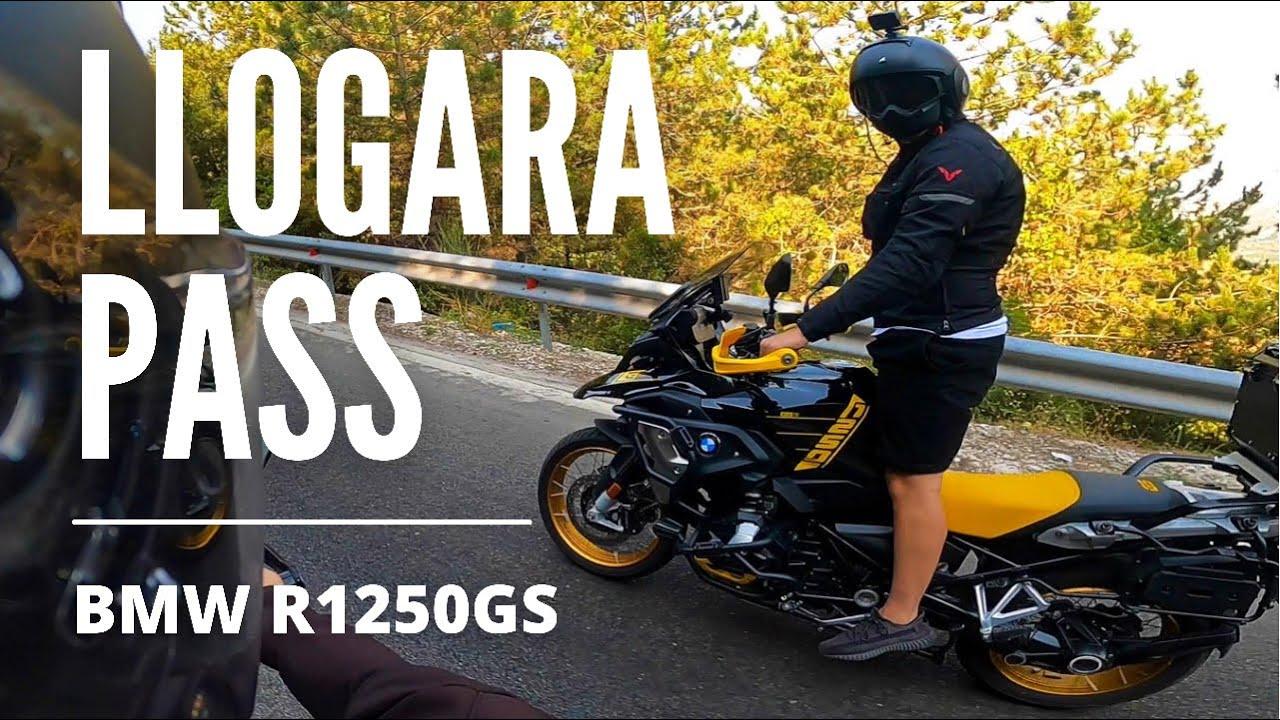 Ride to Llogara Pass from Orikum, Vlorë | BMW R1250GS - 🇦🇱 Albania