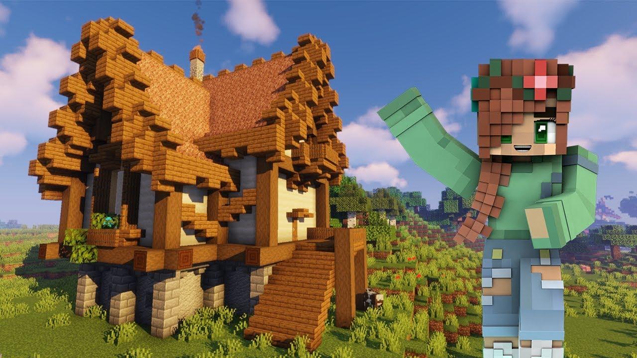 Simple Medieval Fantasy House Tutorial