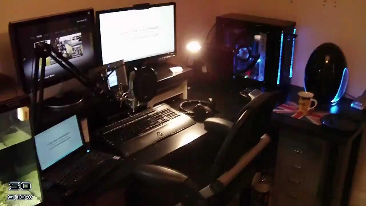 SystemOverrideGamings Gaming Setup July 2012 - YouTube