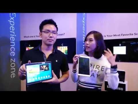 """ทดลองจับ Galaxy Tab S 10.5"""" และ 8.4"""""""