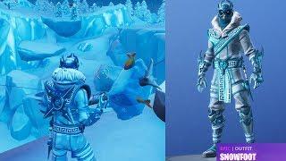 Fortnite - *SNOWFOOT* Skin!