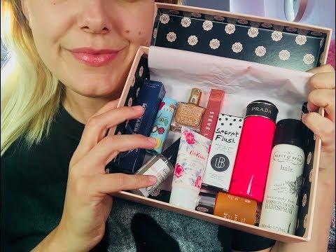 Asmr applying mascara on you