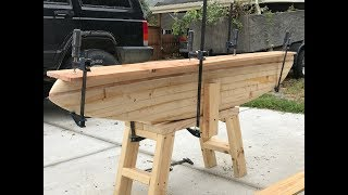 Pickle's Ford Cabin:  Chambered Wooden Surfboard Build Pt. 2