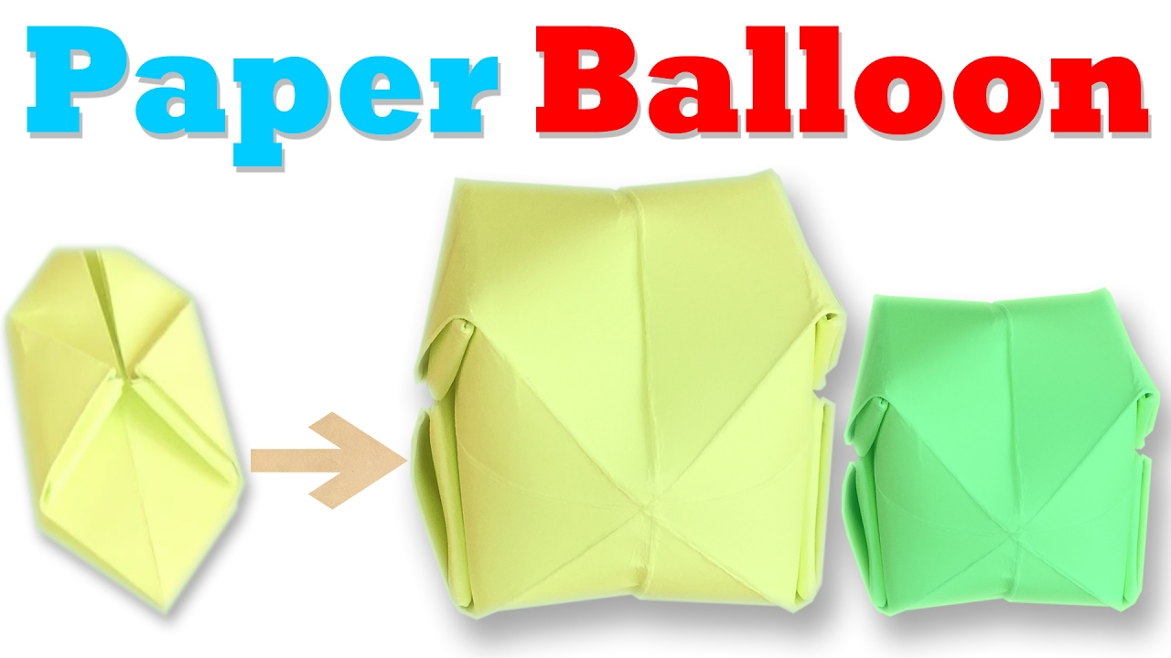 How To Make An Origami Balloon Step By