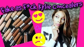 Fake As F*ck Kylie Jenner Concealer Review| 12 Shades| DHGate.com|Good Buy or Girl Why???????