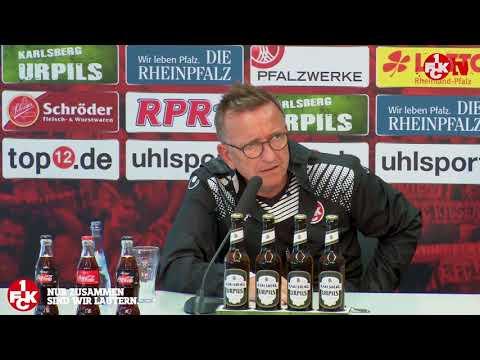 Pressekonferenz vor dem Spiel gegen Düsseldorf