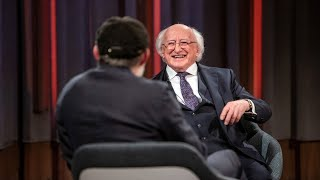 Tommy speaks to President of Ireland, Michael D. Higgins | The Tommy Tiernan Show | RTÉ One