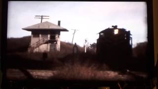 Hallett Tower Junction of MKT and Frisco Railroads outside of Hallett Ok