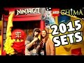 2015 LEGO Chima & Ninjago Sets w/ FGTEEV Mom & Dad @ the New York Toy Fair!