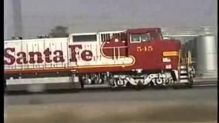 Santa Fe fast freight