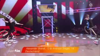 Awesome bike acrobatics /// Kunstrad | Alexander Brandl & Andreas Steger | Superkids