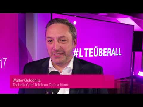 Social Media Post: Telekom Pressekonferenz: LTE überall